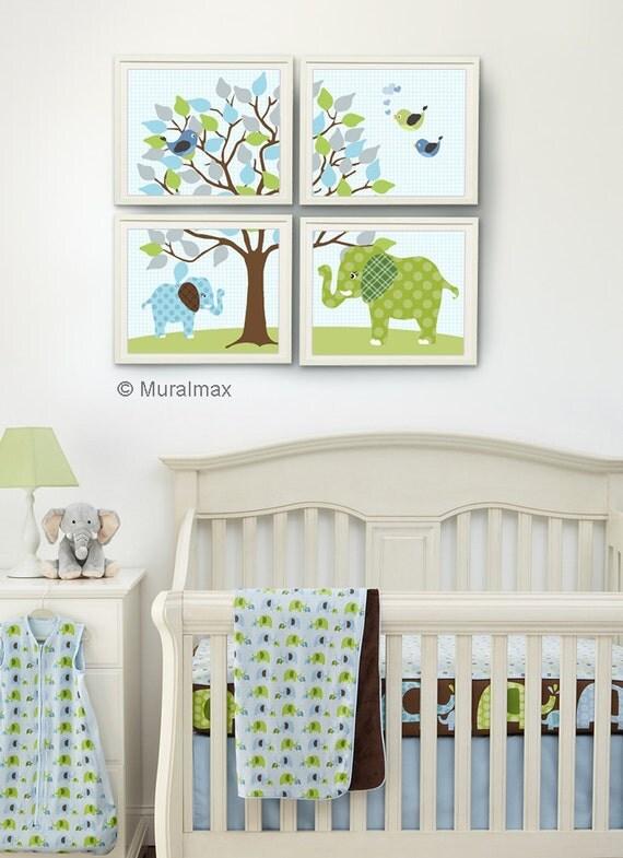 Kinderzimmer Junge Baby Grün Blau | gerakaceh.info