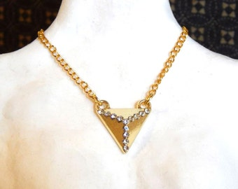 Doll Necklace - ball joint doll jewelry - The Glam Pyramid - rocker chic for 1/3 or SD sized BJD or American Model
