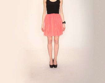 Tulle skirt pink color | rose | Brigitte Bardot | adult tulle | party skirt | princess