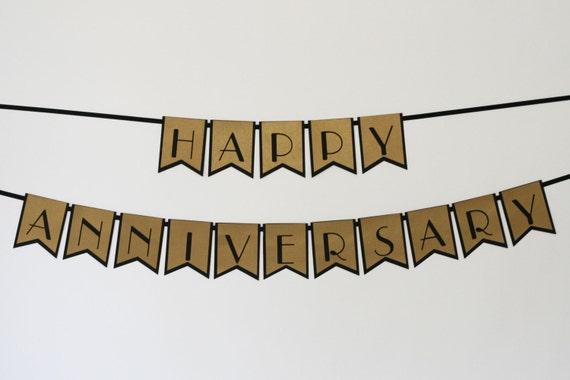 Image gallery happy anniversary banner