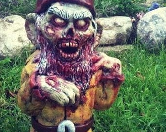Willie Walker Zombie Gnome