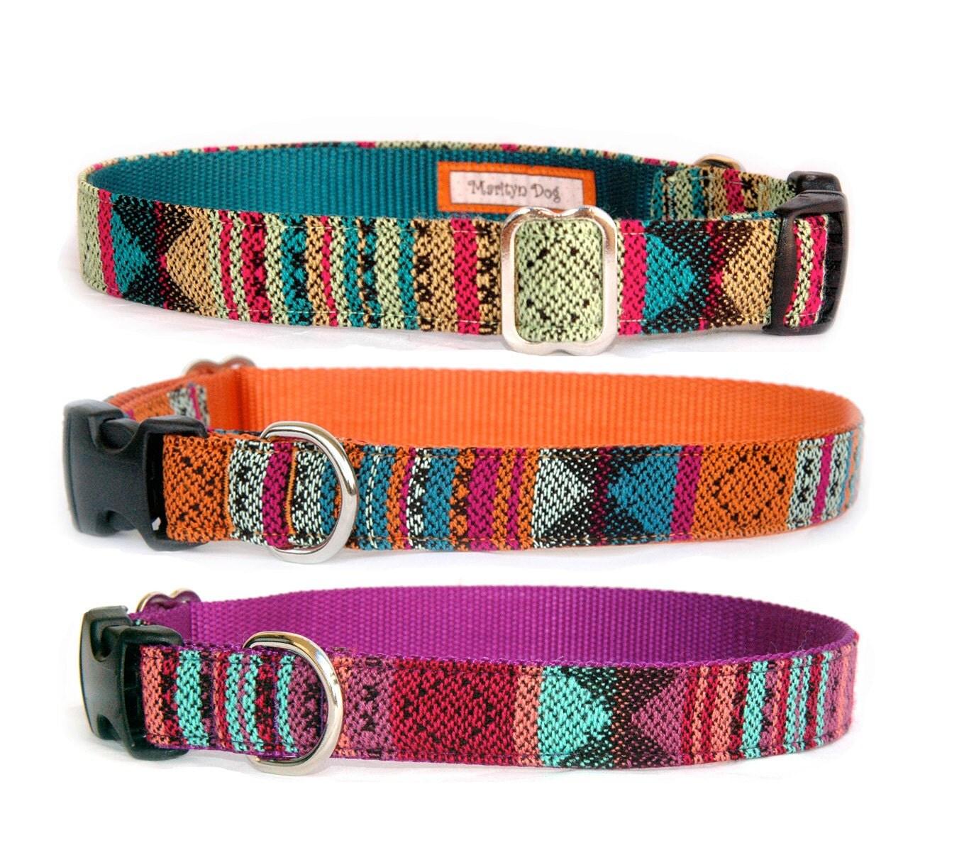 Aztec Dog Collar And Leash