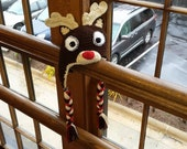 FREE SHIPPING: Made To Order Rudolph Hat