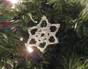Snowflake Christmas ornaments -Large