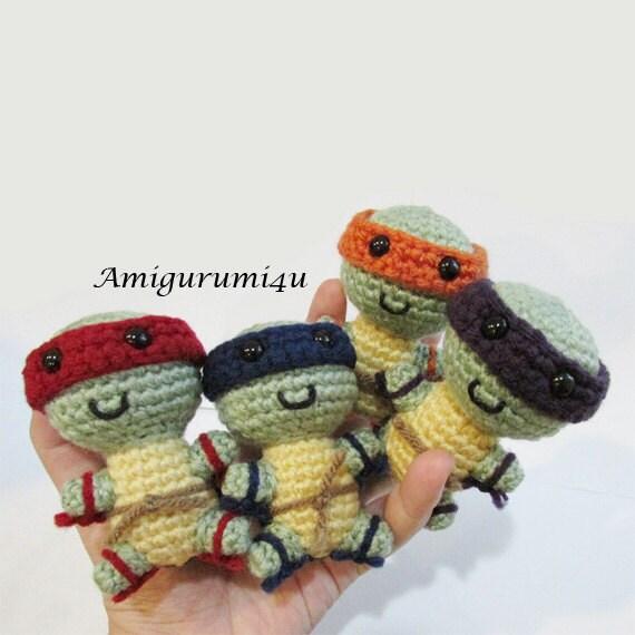 Teenage Mutant Ninja Turtles TMNT Amigurumi Crochet by ...