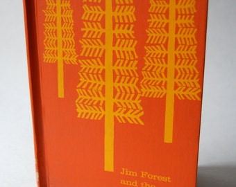 Vintage Children's Book, Jim Forest and the Trapper