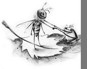 Whimsical Fine Art Illustration