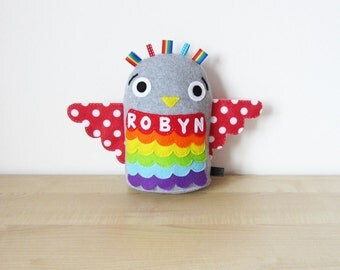Personalised Toy: Plush Owl Toy