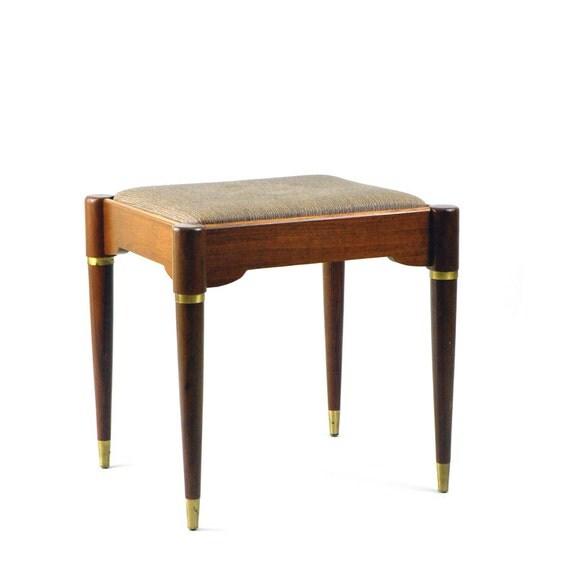 mid century modern vanity stool on hold for kaylenemangrum