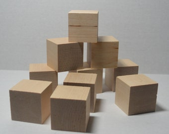 1 2 solid wood blocks set of 25 unfinished wooden for Child craft wooden blocks