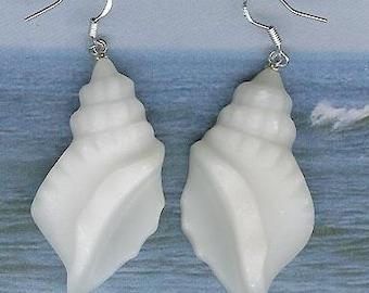 Earrings - Jade, Sterling Silver