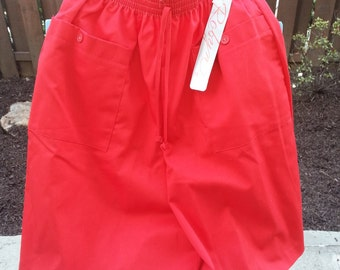 Retro 1980's Skort by Robyn - Deadstock New Old Stock Culottes
