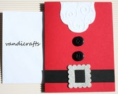 Santas Red Belly Christmas card - 4.25 x 5.50 {A2}