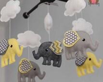 Elephant Mobile - Custom Mobile (ships in 4-6 weeks)