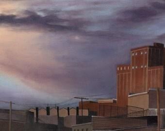 Baltimore Skyline, Natty Boh, Charm City, Art Print