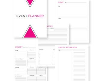 PRINTABLE Event Planner PDF
