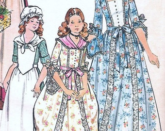 Vintage 4260 Butterick 1776 Make it Real misses pattern for Dolly Madison costumes  Undated