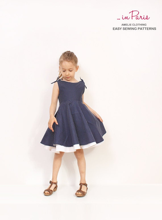 Toddler Dress Patterns Australia: Baby hourglass dress girls summer ...