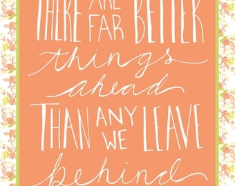 Far Better Things Ahead - CS. Lewis Print