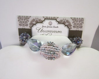 Jesse James 6447 Uncommon Elegance Beads Pale Pinks and Blues