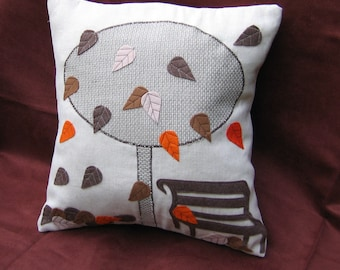 Fall decor, fall pillow covers, leaves fall pillows, autumn pillows, fall decorations, brown decor, autumn room decor, tree in the fall