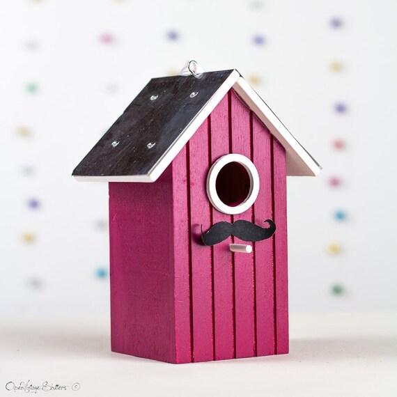 Items Similar To Spring Decor Wooden Cherry Bird House