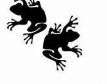 Frog  Window Decal/Frogs Window Decal/ Frog Decal/Frog Sticker/Frogs
