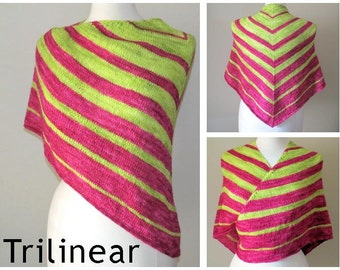 Trilinear Yarn Kit - Stunning Superwash Fingering Weight - 100% Superwash Merino