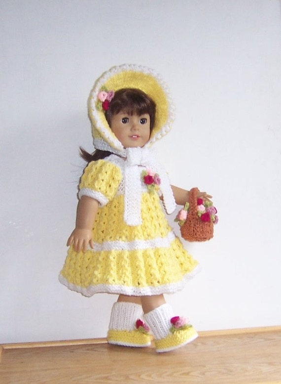 Knitting Patterns For Our Generation Doll Clothes : Dolls clothes PDF knitting pattern for 18