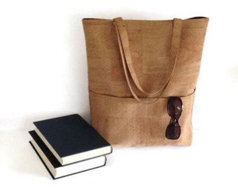 Cork Bag - Large Eco Friendly Tote Bag - Vegan Gift