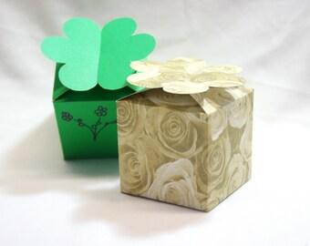 DIY Box, Gift Box, Paper Box, Box Template, Printable Gift Box, Flower Box