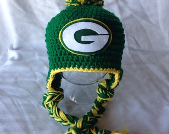 Green Bay Packers Hat Newborn-Adult sizes