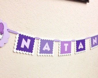Daisy Duck Birthday Name Decorations Banner Personalized