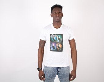 90s Neon T-Shirt   - Audio T Shirt   -  Bryston -  50/50 T-Shirt - 1439