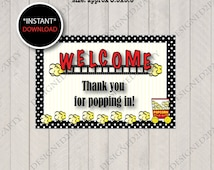 Thanks For Popping By Baby Free Printable | just b.CAUSE
