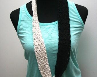 Crazy Yarn Scarves and Basic Crochet Stitches