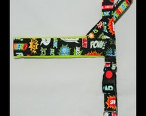 Norway harness for a superhero dog.  For dog, IG, sighthounds, chihuahua, pugs, bulldogs, Italian greyhound, maltipoo, york, poodle, whippet