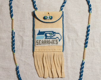 Seattle Seahwak Neck Pouch