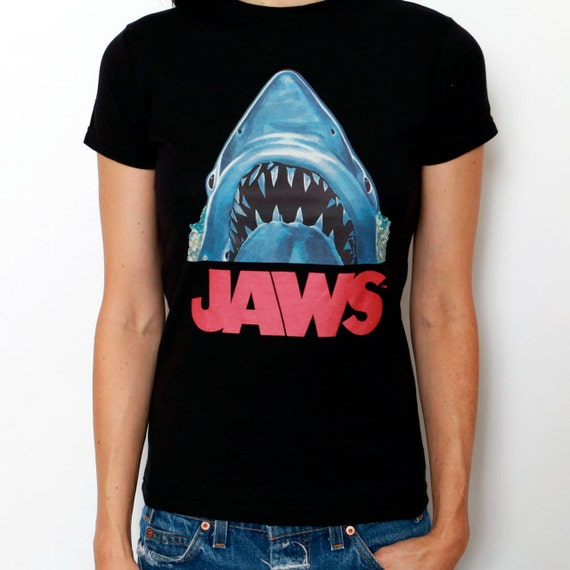 Vintage jaws tee 70s t shirt by dazedandvintage on etsy for 70 s t shirt transfers