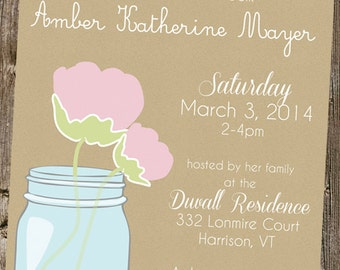 Bridal Shower- Chic Mason Jar