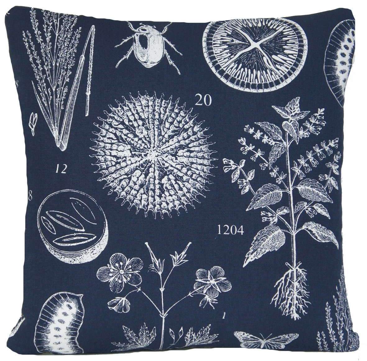 botanical cushion cover ikea throw pillow by coralhomeaccessories. Black Bedroom Furniture Sets. Home Design Ideas