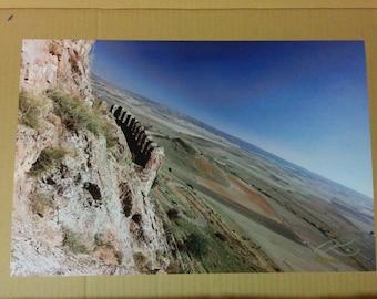 "Photo: Sigüenza, España (18"" x 12"" print) (front signature)"