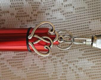 HEART Memorial Jewelry, PET, Cremation Urn, Add-a-Photo, *BONUS* Purse clip, Necklace, & Keychain