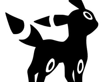 Umbreon Decal