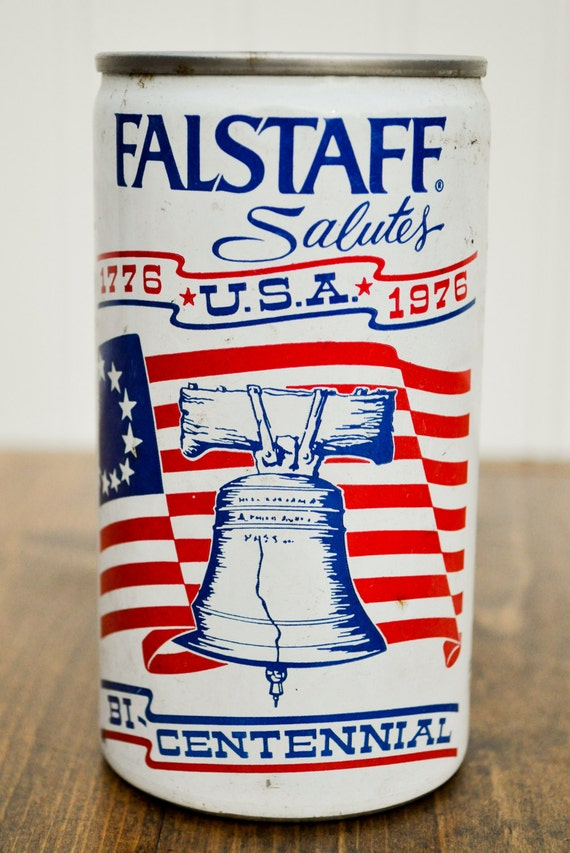 Items similar to 1976 Bicentennial Falstaff Beer Can ...