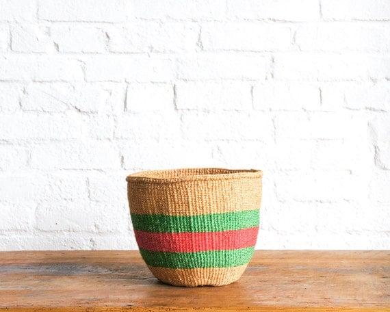 Kenyan Handmade Baskets : Little woollie friday finds