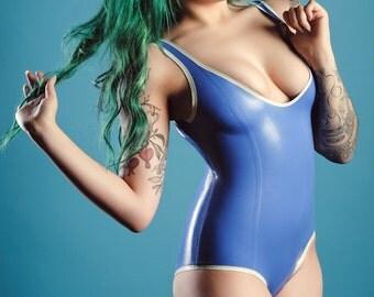 Latex Sleeveless Bodysuit