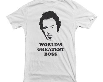 Bruce Springstein T-shirt World's Greatest Boss