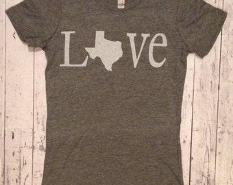 Texas Love Vintage Tee