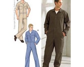 Sewing Pattern - Mens Pattern, Coveralls Pattern, Kwik Sew #K3389